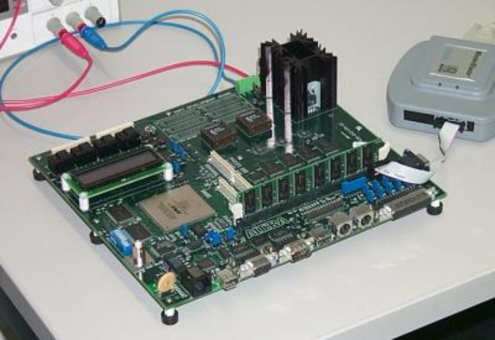 image of a System-On-a-Programmable-Chip-Board
